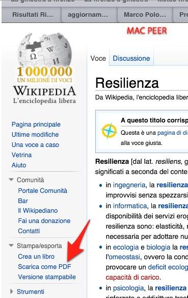 Sarà la stessa pagina Wikipedia ad avvertirci dell'avvenuta conversione.