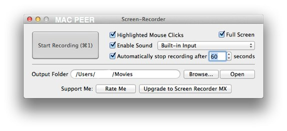 Screen Recorder Mac App Gratuita