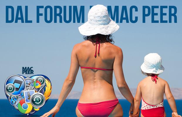 Cosa succede sul forum di Mac Peer - Aiuto per Mac ipad iphone e ipod