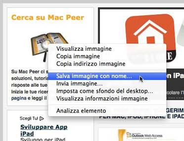 Firefox - Salva immagine