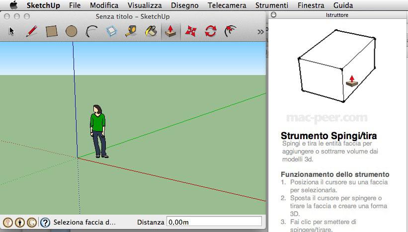 Google sketchup per mac modellazione 3d for Modellazione 3d gratis