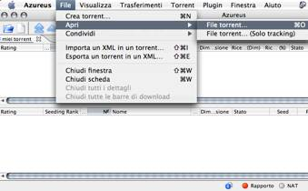 Azureus vuze tutorial - La finestra di fronte torrent ...