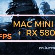 Counter-Strike: Global Offensive (graphics all to High). Mac mini 2018