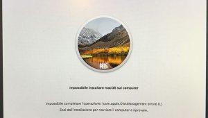 com.apple.diskmanagement errore 0